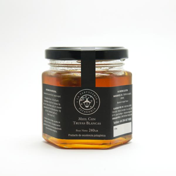 Miel con trufa blanca 240gr