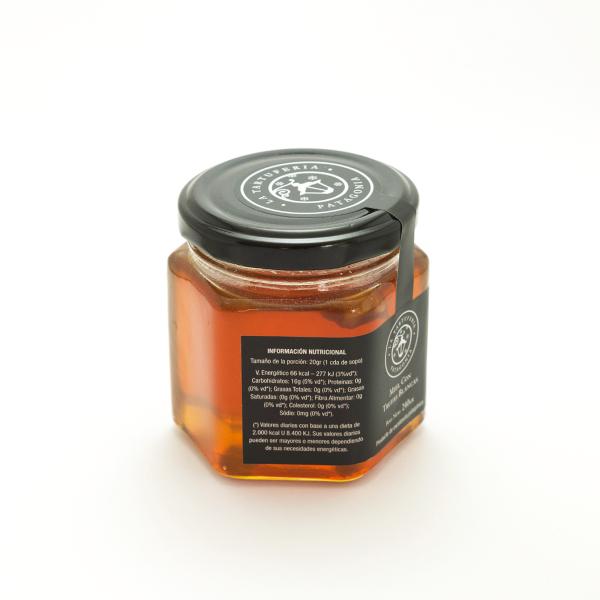 Miel con trufa blanca 240gr lateral 2