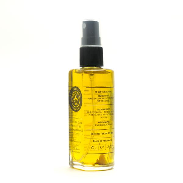 Aceite de oliva con trufas blancas 60ml lateral 2